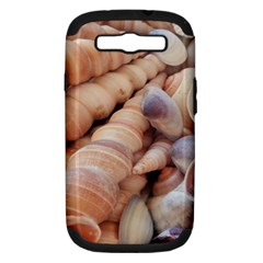 Sea Shells Samsung Galaxy S III Hardshell Case (PC+Silicone)