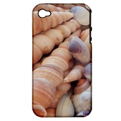 Sea Shells Apple iPhone 4/4S Hardshell Case (PC+Silicone)