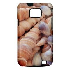 Sea Shells Samsung Galaxy S II i9100 Hardshell Case (PC+Silicone)