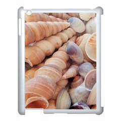 Sea Shells Apple iPad 3/4 Case (White)