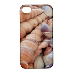 Sea Shells Apple iPhone 4/4S Hardshell Case with Stand