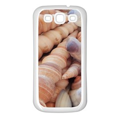 Sea Shells Samsung Galaxy S3 Back Case (White)