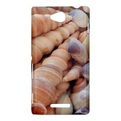 Sea Shells Sony Xperia C (S39H) Hardshell Case