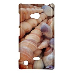 Sea Shells Nokia Lumia 720 Hardshell Case