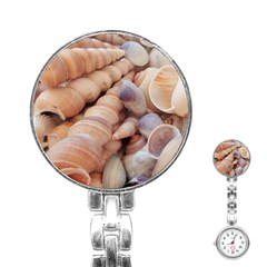 Sea Shells Stainless Steel Nurses Watch