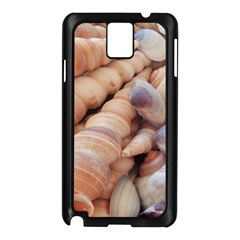 Sea Shells Samsung Galaxy Note 3 N9005 Case (black)