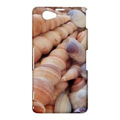 Sea Shells Sony Xperia Z1 Compact Hardshell Case