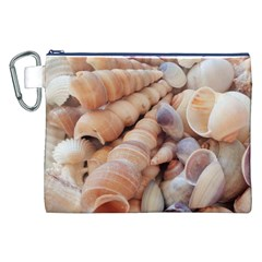 Sea Shells Canvas Cosmetic Bag (XXL)