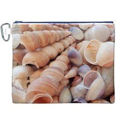 Sea Shells Canvas Cosmetic Bag (XXXL)
