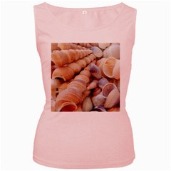 Sea Shells Women s Tank Top (Pink)