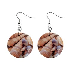Sea Shells Mini Button Earrings