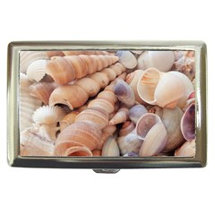 Sea Shells Cigarette Money Case