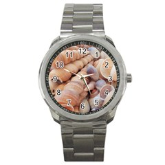 Sea Shells Sport Metal Watch