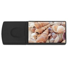 Sea Shells 4GB USB Flash Drive (Rectangle)
