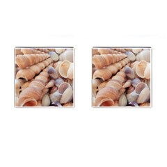 Sea Shells Cufflinks (Square)