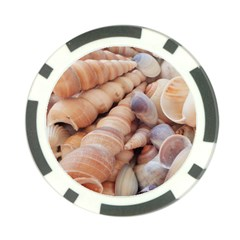 Sea Shells Poker Chip