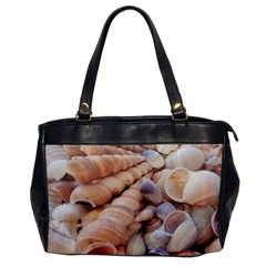 Sea Shells Oversize Office Handbag (One Side)