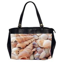 Sea Shells Oversize Office Handbag (Two Sides)