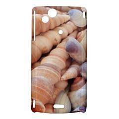 Sea Shells Sony Xperia Arc Hardshell Case