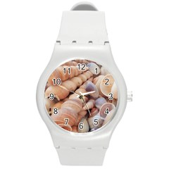 Sea Shells Plastic Sport Watch (medium)