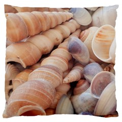 Sea Shells Large Cushion Case (Two Sided)