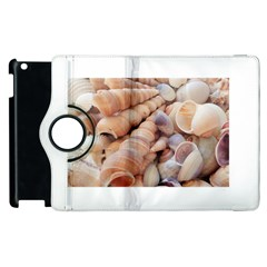 Sea Shells Apple Ipad 2 Flip 360 Case