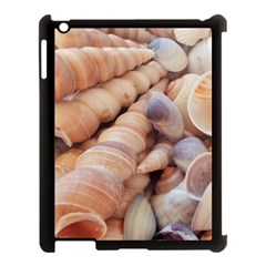 Sea Shells Apple iPad 3/4 Case (Black)