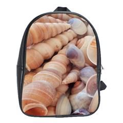 Sea Shells School Bag (XL)