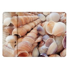 Sea Shells Samsung Galaxy Tab 10.1  P7500 Flip Case
