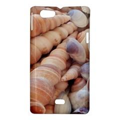 Sea Shells Sony Xperia Miro Hardshell Case