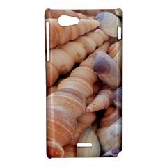 Sea Shells Sony Xperia J Hardshell Case
