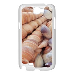 Sea Shells Samsung Galaxy Note 2 Case (White)