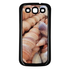 Sea Shells Samsung Galaxy S3 Back Case (black)