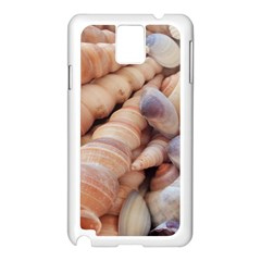 Sea Shells Samsung Galaxy Note 3 N9005 Case (White)