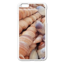 Sea Shells Apple iPhone 6 Plus Enamel White Case
