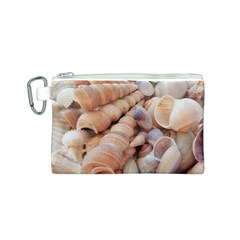 Sea Shells Canvas Cosmetic Bag (Small)