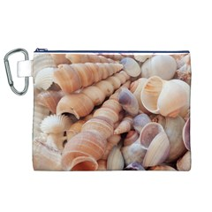 Sea Shells Canvas Cosmetic Bag (xl)