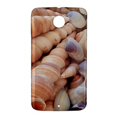 Sea Shells Google Nexus 6 Case (White)