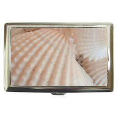 Sunny White Seashells Cigarette Money Case