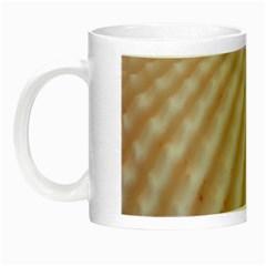 Sunny White Seashells Glow In The Dark Mug