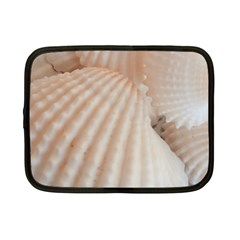Sunny White Seashells Netbook Sleeve (Small)
