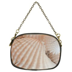 Sunny White Seashells Chain Purse (Two Sided)