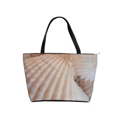 Sunny White Seashells Large Shoulder Bag