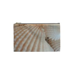 Sunny White Seashells Cosmetic Bag (Small)
