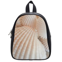 Sunny White Seashells School Bag (Small)