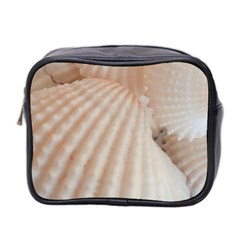 Sunny White Seashells Mini Travel Toiletry Bag (Two Sides)