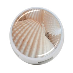 Sunny White Seashells 4-Port USB Hub (Two Sides)