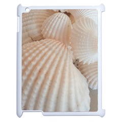 Sunny White Seashells Apple iPad 2 Case (White)
