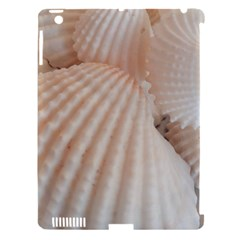 Sunny White Seashells Apple iPad 3/4 Hardshell Case (Compatible with Smart Cover)