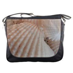 Sunny White Seashells Messenger Bag